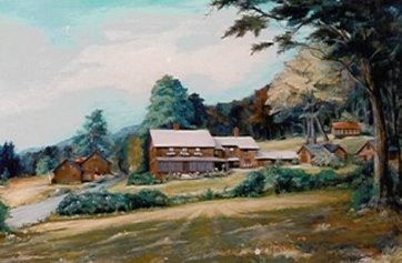 Painting of Farm